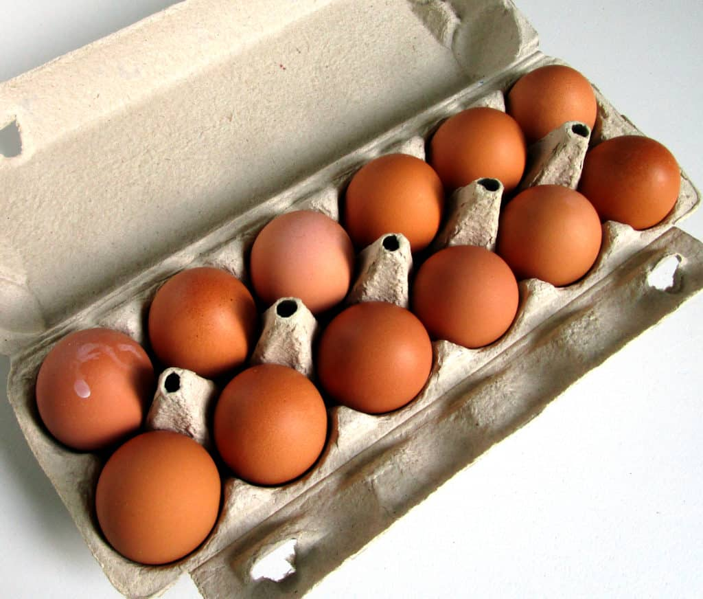 Carton of Large Size Eggs