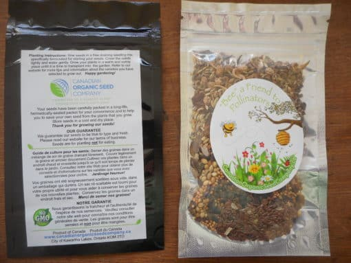 Bee Kind to Pollinators Seed Packet