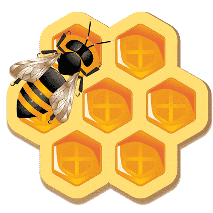 Bees universe logo 1