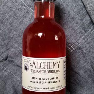 Jasmine Sour Cherry Kombucha