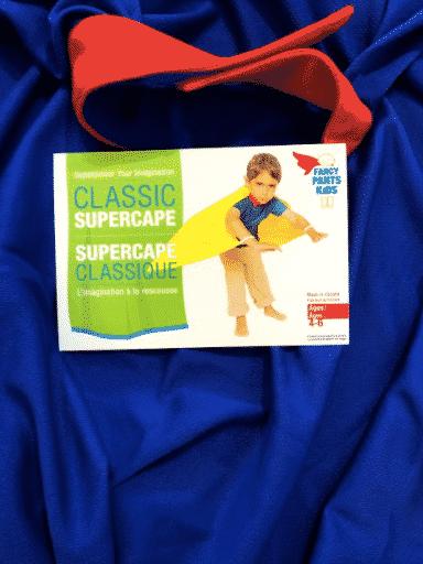 blue supercape