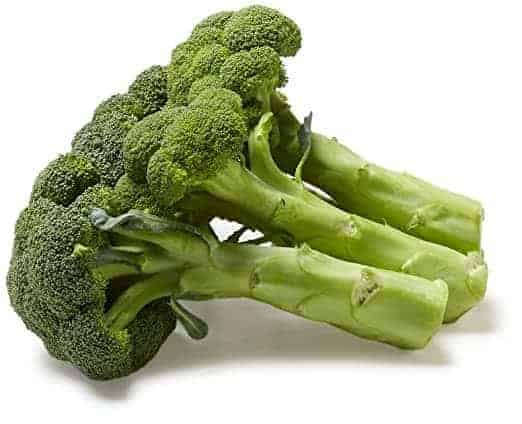 Broccoli bunch/head
