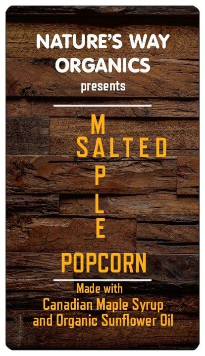 salted maple popcorn