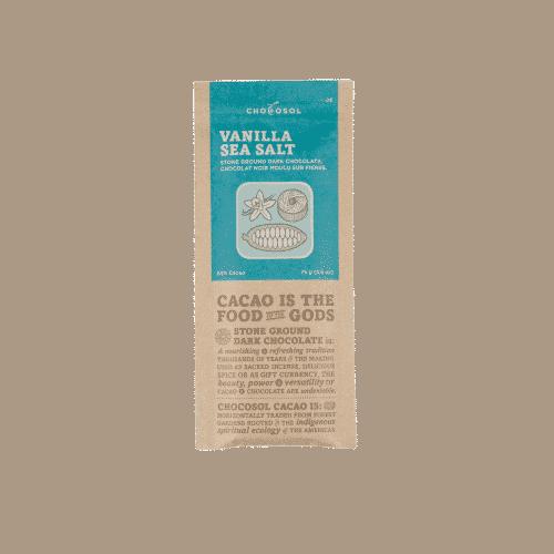 vanilla sea salt bar